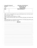 10 Đề kiểm tra 1 tiết HK 1 Sinh  7 (2012-2013) - Kèm đáp án