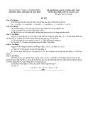 Đề kiểm tra chất lượng đầu năm Hóa 10 nâng cao - THPT Lê Qúy Đôn