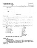 Đề kiểm tra 1 tiết Vật lí 7 - THCS Phú Thượng