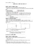 Đề kiểm tra 1 tiết Vật lí 7 - THCS An Bằng - Vinh An