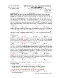 Đề thi thử ĐH Vật lí - THPT Chuyên Lê Quí Đôn năm 2014 (Mã đề 209)