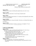 18 Đề kiểm tra HK 2 Sinh học 7 - Kèm đáp án