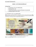 Bài giảng chương 1 - Môi trường MasterCam X