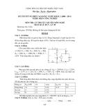 Đề tốt nghiệp CĐ nghề khóa 2 Điện công nghiệp (2008-2011) - Mã: ĐCN - LT 48 - Phần lý thuyết (kèm Đ.án)