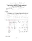 Đề tốt nghiệp CĐ nghề khóa 2 Điện công nghiệp (2008-2011) - Mã: ĐCN - LT 37 - Phần lý thuyết (kèm Đ.án)