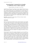 Measuring Banks' Automated Service Quality: A Confirmatory Factor Analysis Approach