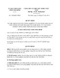 Quyết định 1549/QĐ-UBND năm 2013