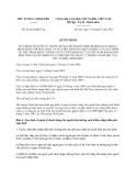 Quyết định 42/2013/QĐ-TTg