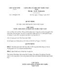 Quyết định 1194/QĐ-CTN năm 2013