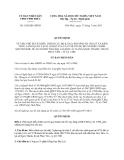 Quyết định 1826/QĐ-UBND năm 2013