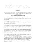 Quyết định 42/2013/QĐ-UBND tỉnh Ninh Thuận