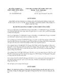 Quyết định 1528/QĐ-BNN-KH năm 2013