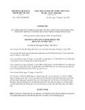 Nghị quyết 11/2013/NQ-HĐND thành phô Hà Nội
