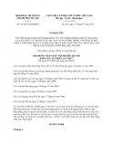 Nghị quyết 16/2013/NQ-HĐND Thủ đô Hà Nội