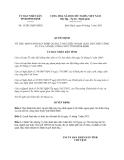 Quyết định 15/2013/QĐ-UBND tỉnh Bình Định