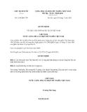 Quyết định 1150/QĐ-CTN năm 2013
