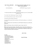 Quyết định 45/2013/QĐ-TTg