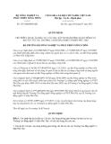 Quyết định 1527/QĐ-BNN-KH năm 2013