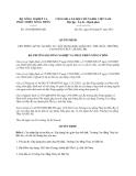 Quyết định 1529/QĐ-BNN-KH năm 2013