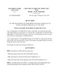 Quyết định 829/QĐ-BHXH năm 2013