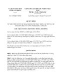 Quyết định 1438/QĐ-UBND năm 2013