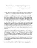 Chỉ thị 12/CT-UBND năm 2013 tỉnh Đồng Tháp