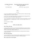 Văn bản hợp nhất 03/VBHN-VPQH năm 2013