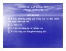 Bài giảng Nguyên lý và dụng cụ cắt: Chương 6 - Cao Thanh Long