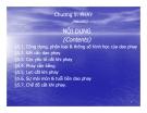 Bài giảng Nguyên lý và dụng cụ cắt: Chương 5 - Cao Thanh Long