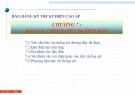 Bài giảng Kỹ thuật điện cao áp: Chương 7 - Bảo vệ chống sét đường dây