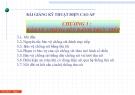 Bài giảng Kỹ thuật điện cao áp: Chương 3 - Bảo vệ chống sét đánh trực tiếp
