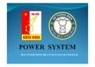 Bài giảng Power System - Phân tích hệ thống điện sử dụng Matlad Toolboxes