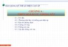 Bài giảng Kỹ thuật điện cao áp: Chương 6 - Thiết bị bảo vệ chống sét