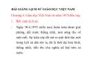 Bài giảng Lịch sử Giáo dục Việt Nam: Chương 4 - Giáo dục Việt Nam  từ năm 1975  đến nay