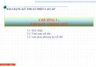 Bài giảng Kỹ thuật điện cao áp: Chương  5 - Nối đất chống sét