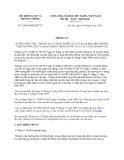 Văn bản hợp nhất 2204/VBHN-BTTTT