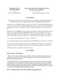 Văn bản hợp nhất 2205/VBHN-BTTTT  Bộ Thông tin và Truyền thông ban hành