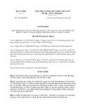Quyết định 1991/QĐ-BTP Bộ Tư pháp