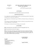 Quyết định 900/QĐ-BNV