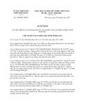 Quyết định 1300/QĐ-UBND tỉnh Vĩnh Long