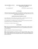 Quyết định 2382/QĐ-BGTVT