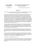 Thông báo 34/TB-UBND