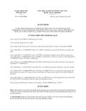Quyết định 1327/QĐ-UBND