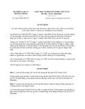 Văn bản hợp nhất 2208/VBHN-BTTTT