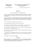 Văn bản hợp nhất 2203/VBHN-BTTTT