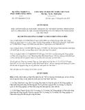 Quyết định 1977/QĐ-BNN-TCC