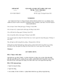 Nghị định số 95/2013/NĐ-CP