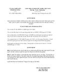 Quyết định số 14/2013/QĐ-UBND tỉnh Đắk Nông