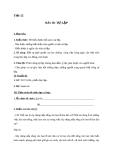 Giáo án GDCD 8 bài 10: Tự lập