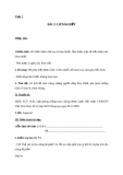 Giáo án GDCD 8 bài 2: Liêm khiết